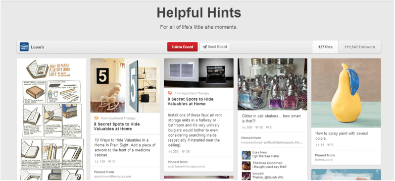 """Lowes' """"How-To"""" Board on Pinterest"""
