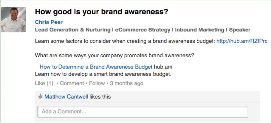 Tips for Posting on Social Media - LinkedIn Group Post