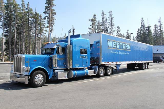 Western Peterbilt Semi-Truck