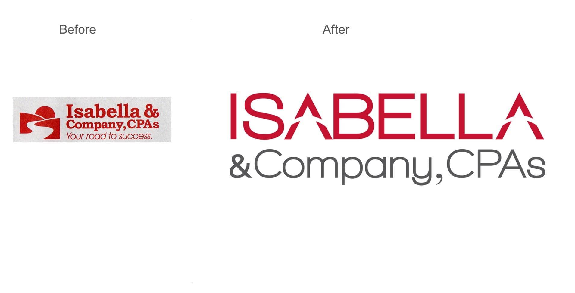 Isabella & Company, CPAs Brand Refresh