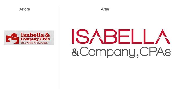 Isabella & Company, CPAs Brand Refresh