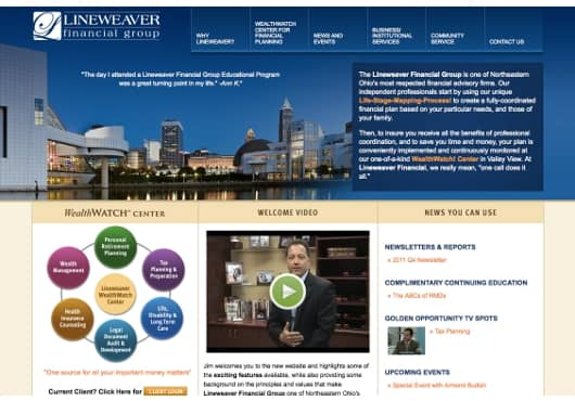 SyncShow Interactive launches lineweaver.net website