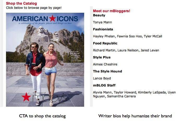 macys competes in the social mediasphere