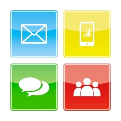 Inbound Marketing Icons