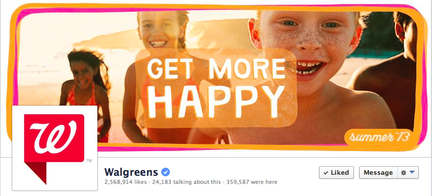 walgreens facebook cover photo
