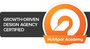 SyncShow is certified in HubSpot's Growth Driven Design program