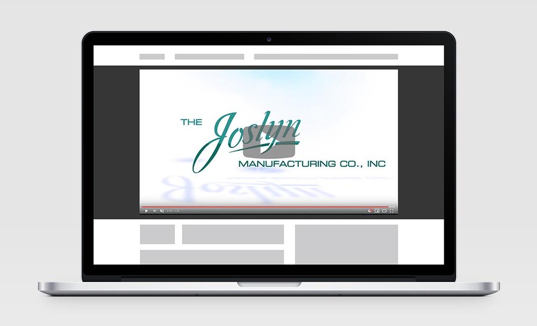 Joslyn Video on Laptop