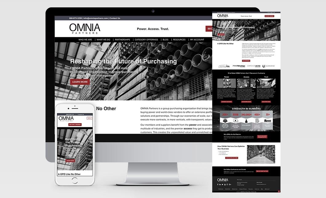 OMNIA Partners Website