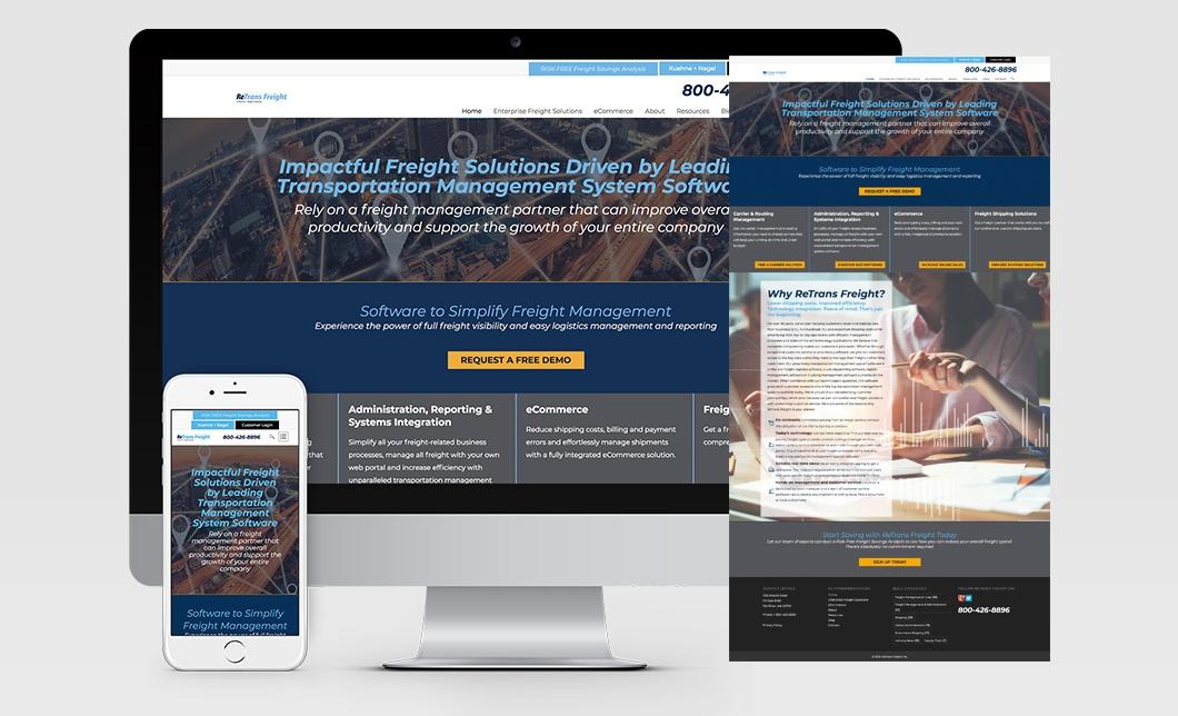 ReTrans Freight Website