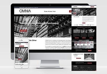 Our Work Website for OMNIA Partners