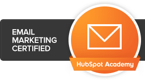 SyncShow is email marketing certified through HubSpot