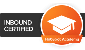 SyncShow team members are Inbound Marketing certified through HubSpot