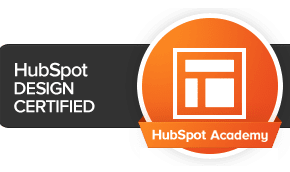 SyncShow team members are certified in HubSpot Design