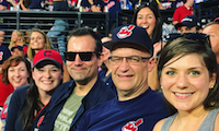 SyncShow Cleveland Indians Baseball Team Outing