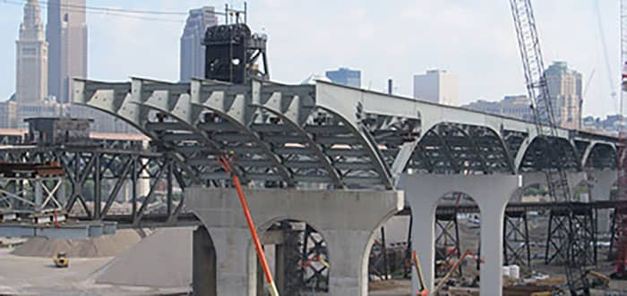 Innerbelt Bridge Construction