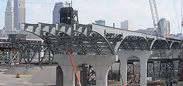Innerbelt Bridge Construction