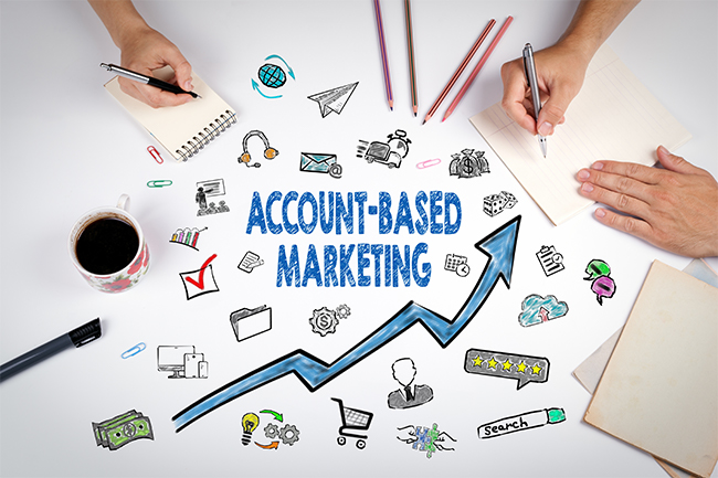 Account-Based Marketing Concept
