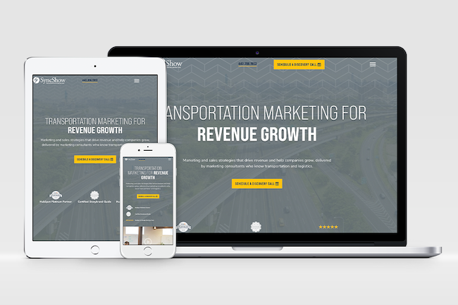 Transportation Marketing website