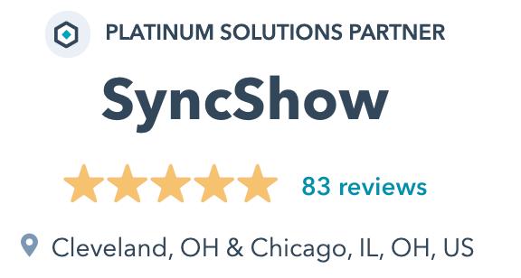 SyncShow HubSpot Platinum Solutions Partner